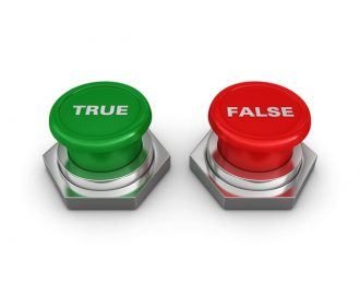 True Versus False